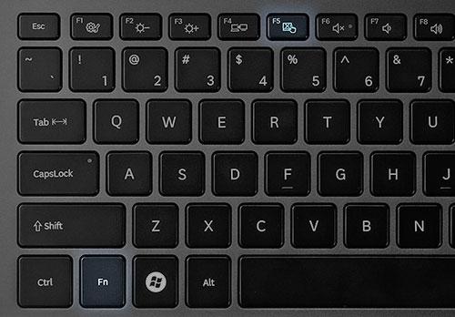Как отключить тачпад на Samsung