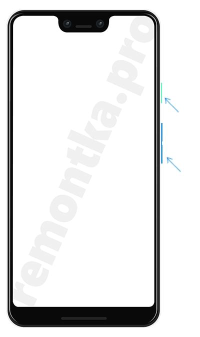 Создание скриншота на Android кнопками