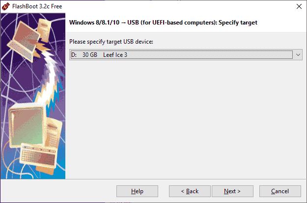 Целевая USB флешка