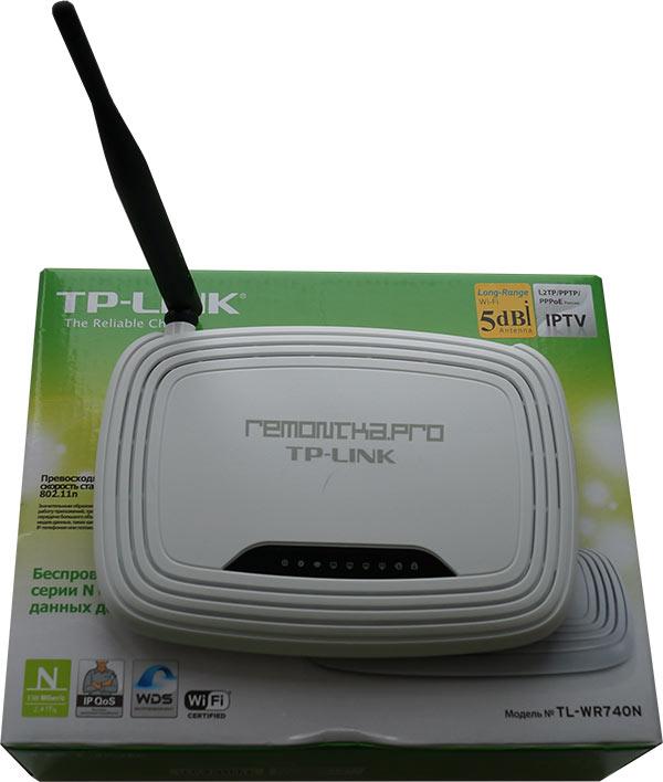 Беспроводный маршрутизатор TP-Link WR-740N