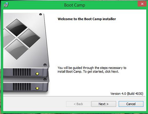 Установка драйверов и утилит BootCamp