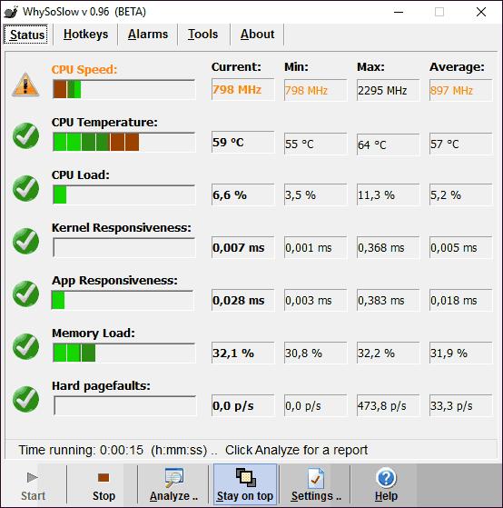 Определяем почему тормозит компьютер в программе WhySoSlow