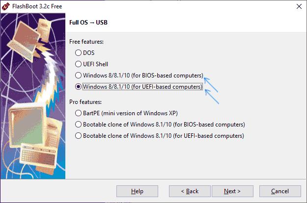 Создание флешки Windows 10 To Go UEFI или Legacy
