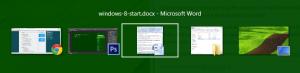 Переключение между приложениями с помощью Alt + Tab