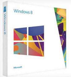 коробка с microsoft windows 8