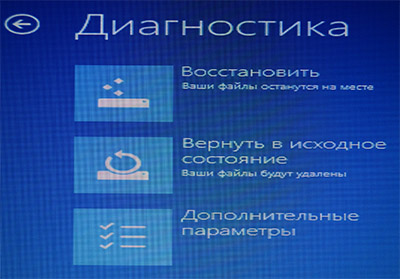 Диагностика системы Windows 8