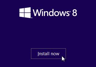 Сложность установки Windows 8