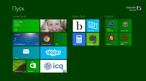 Экран пуск Windows 8