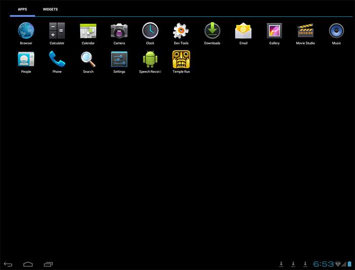 Android Windroy emulyatori